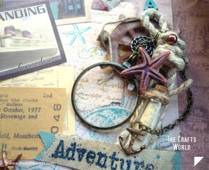 Shadow box - Sea adventure journal