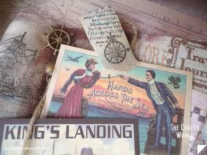 Shadow box - Sea adventure journal