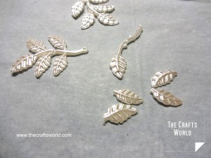 pearl leaves jewelry