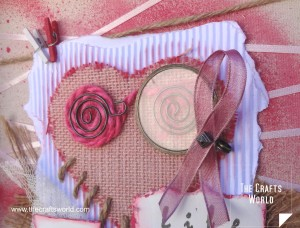 Shadow box - Breast cancer awareness