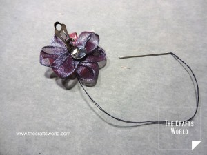Ribbon earrings 3