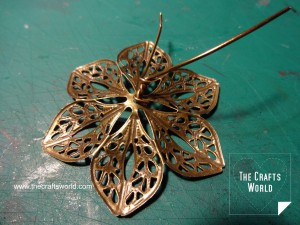 Filigree flowers necklace 3