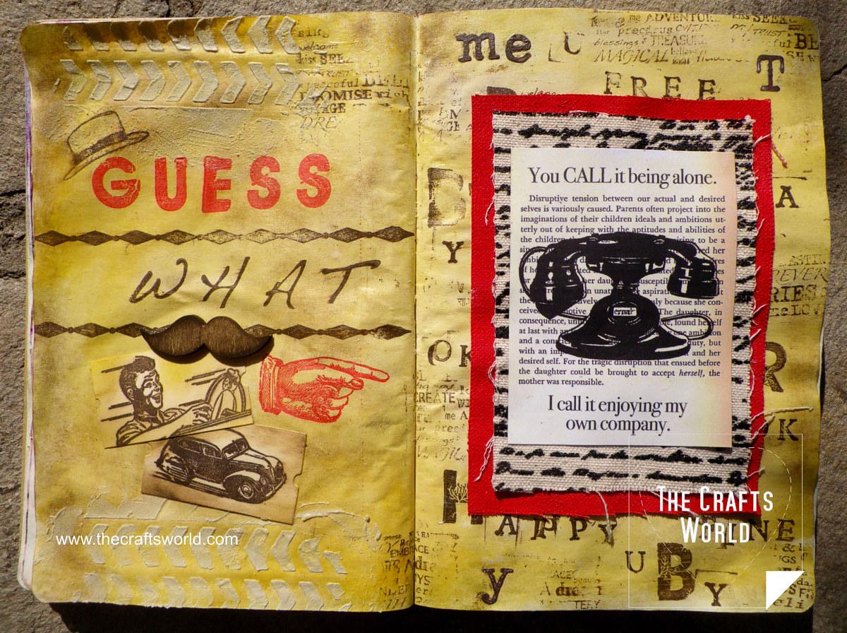 art journal guess