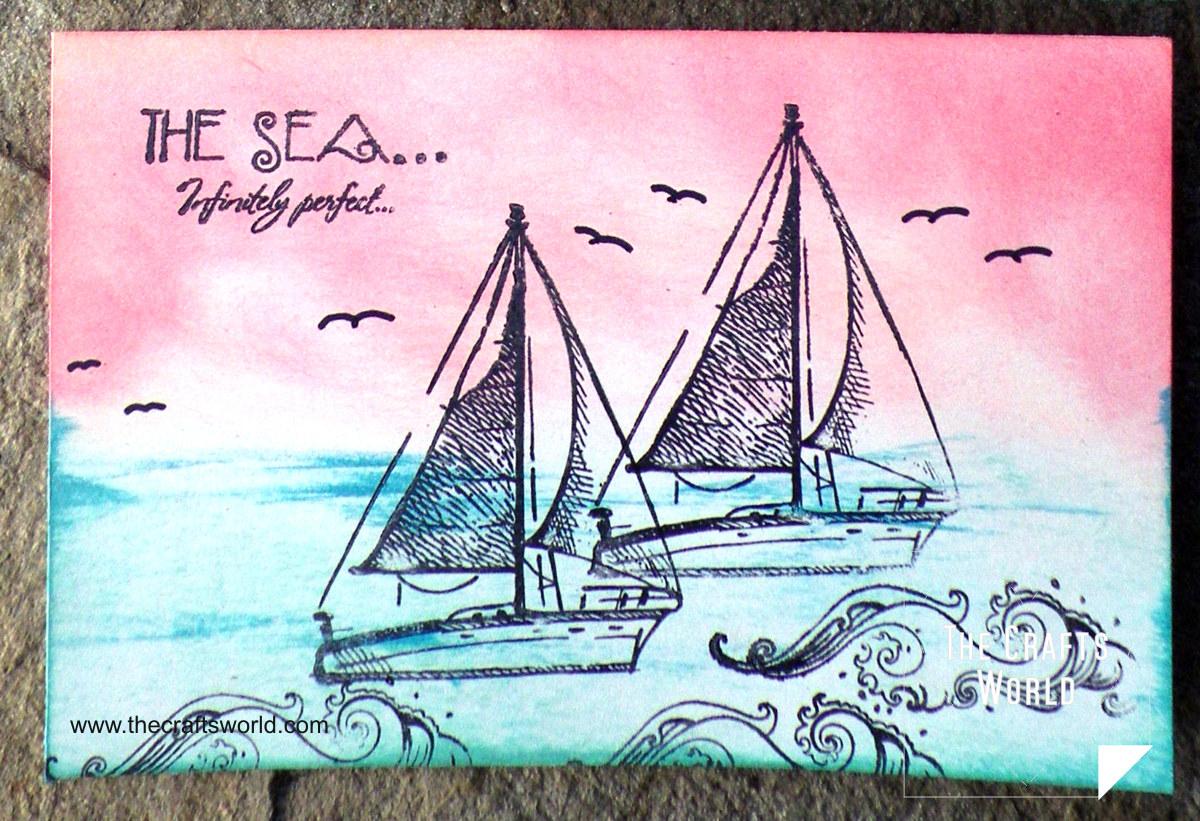 Postcard - Sea 2