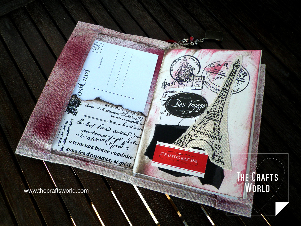 Travel journal Messy Paris front