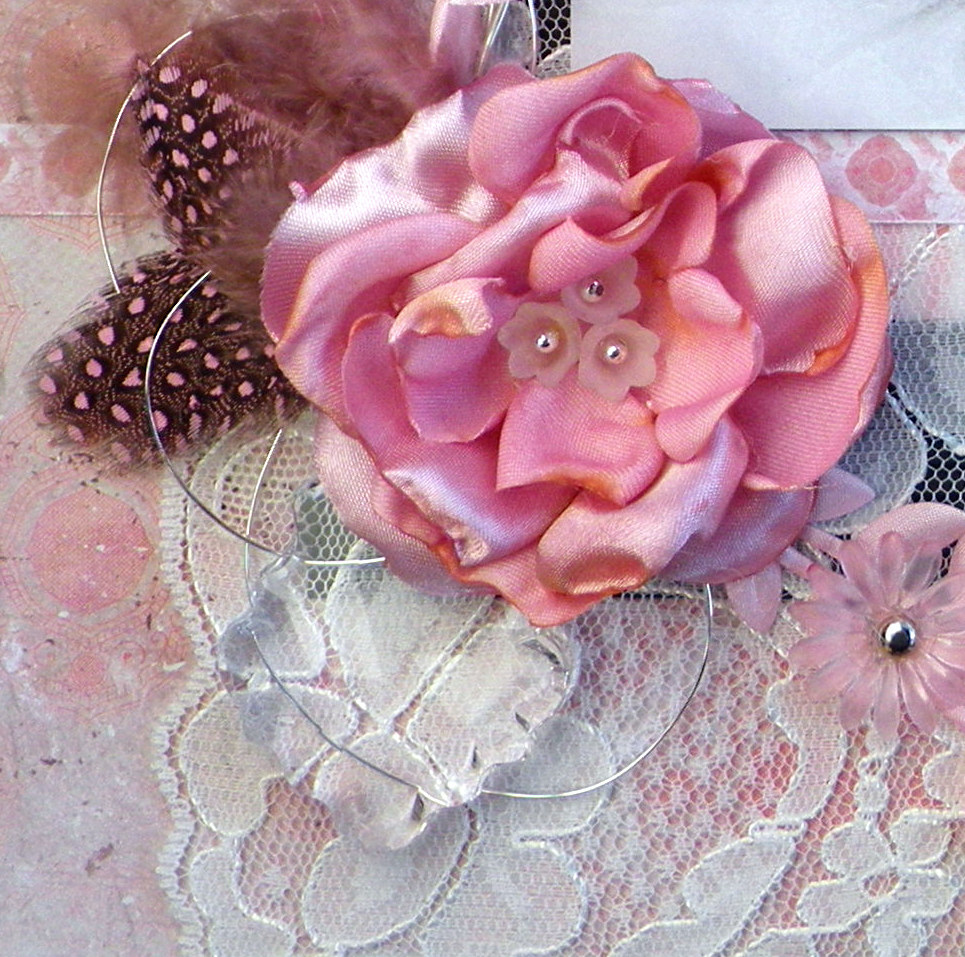 Layout Welcome baby girl detail