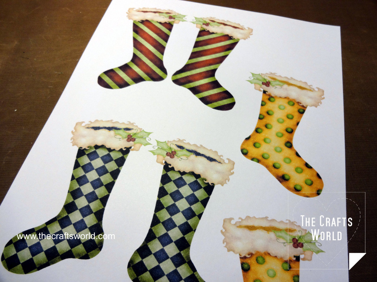 Handmade Christmas Stockings 1