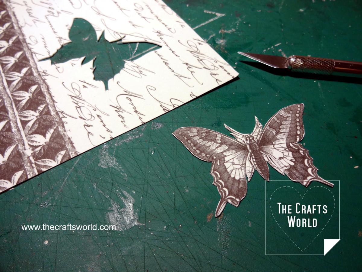 Butterfly pendant 1
