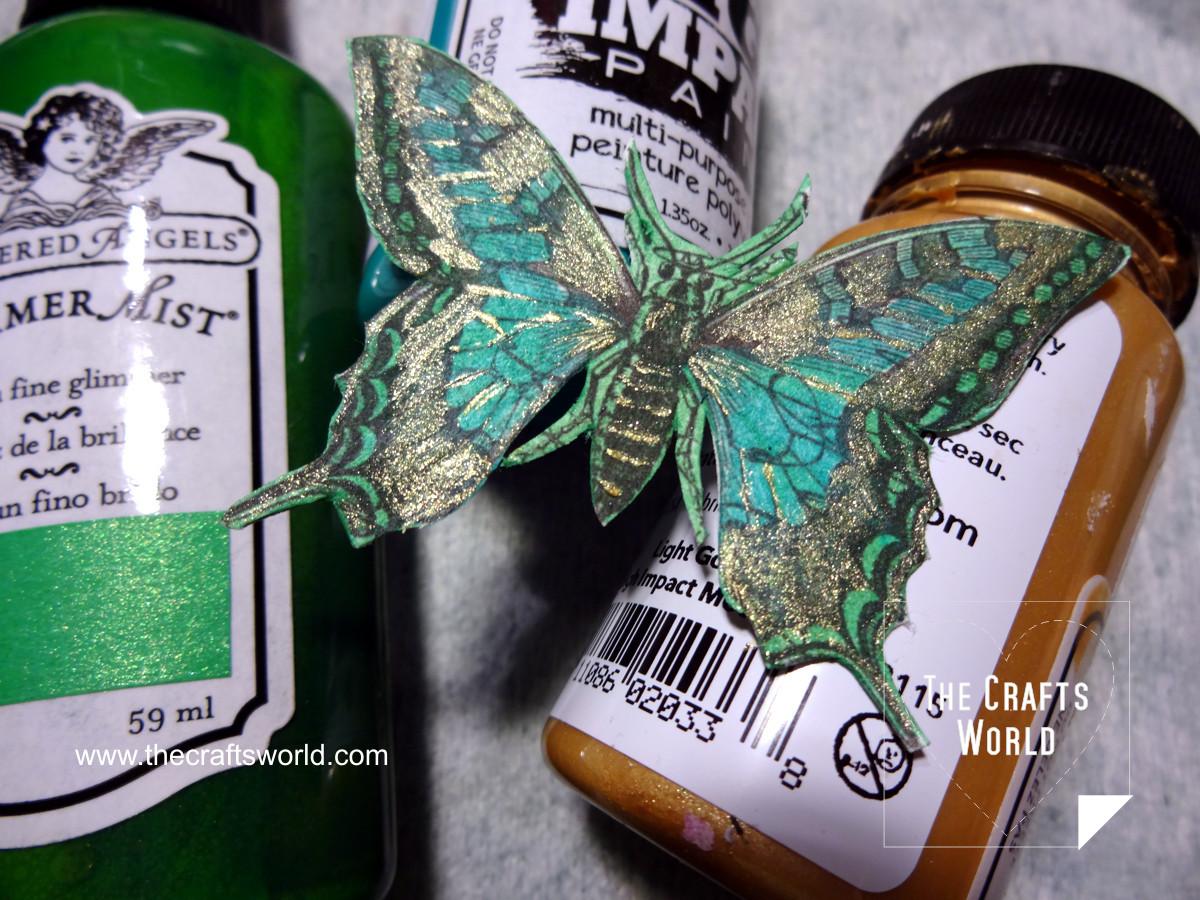 Butterfly pendant 2