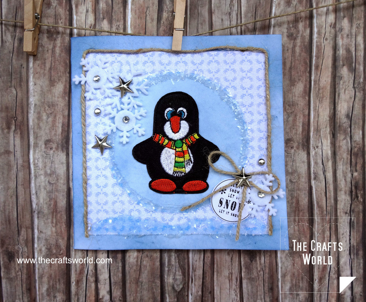 Handmade Christmas Cards penguin