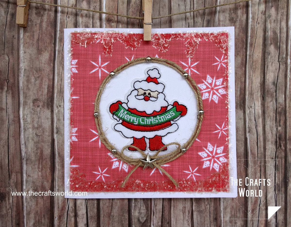 Handmade Christmas Cards santa