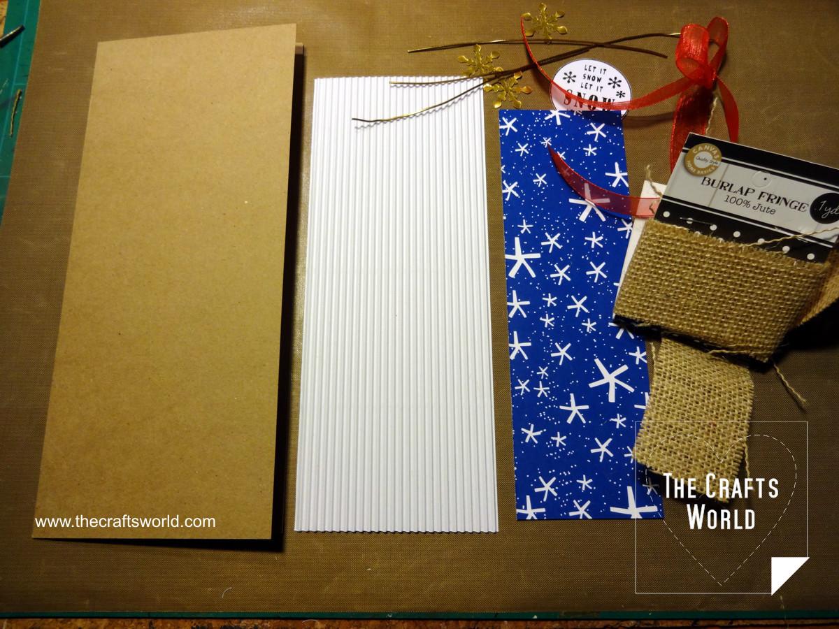 Handmade Christmas cards - skinny 1