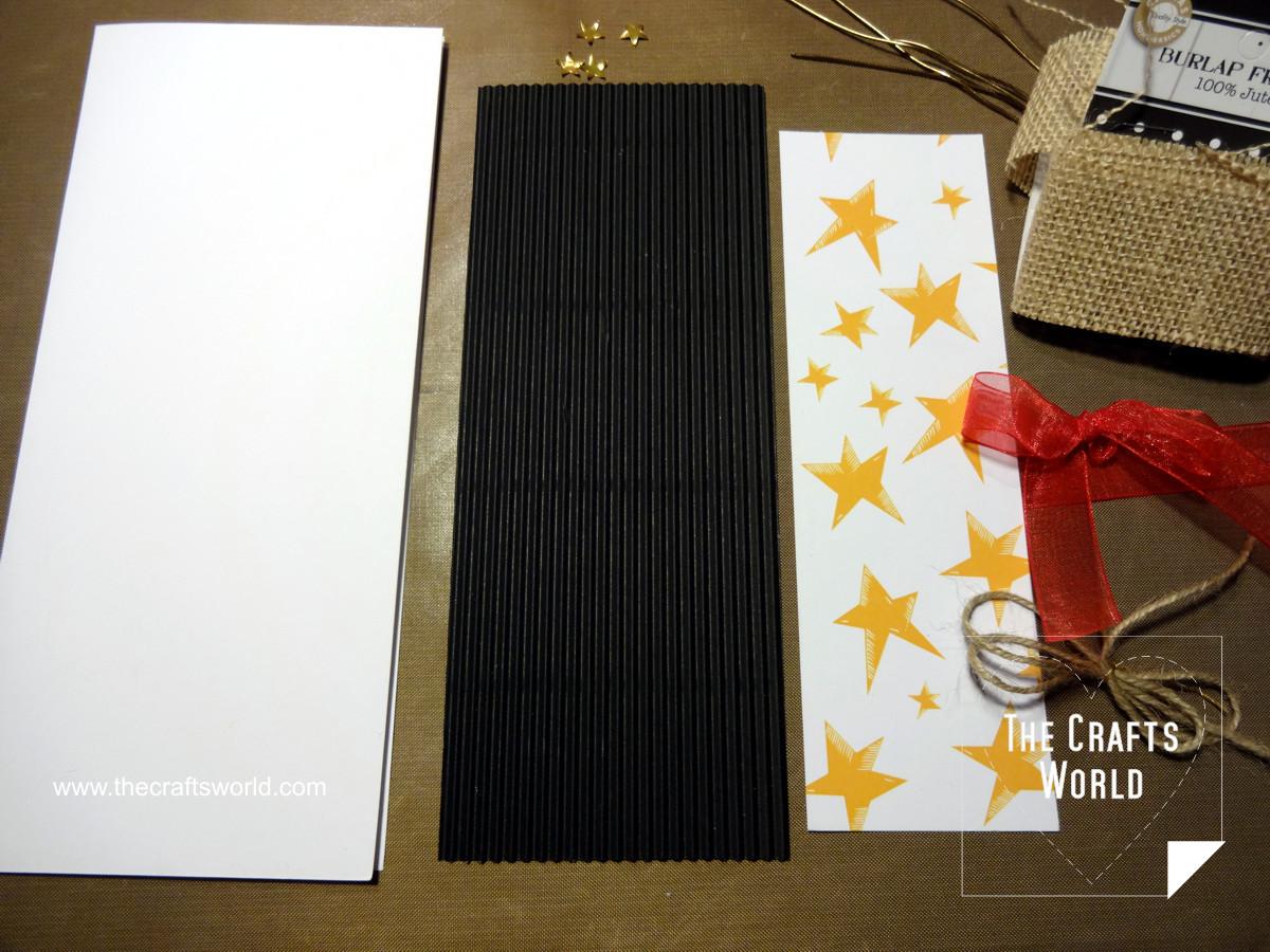 Handmade Christmas cards - skinny 2