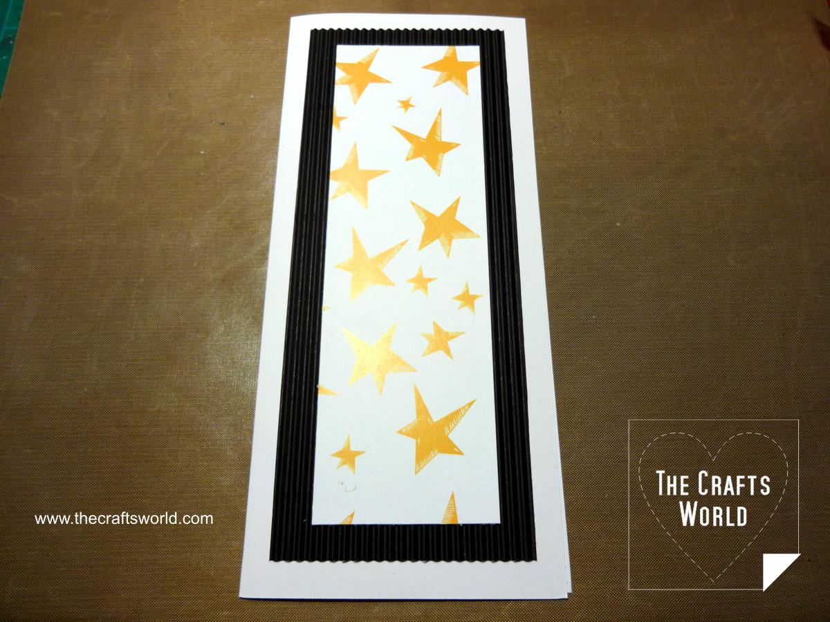 Handmade Christmas cards - skinny 3