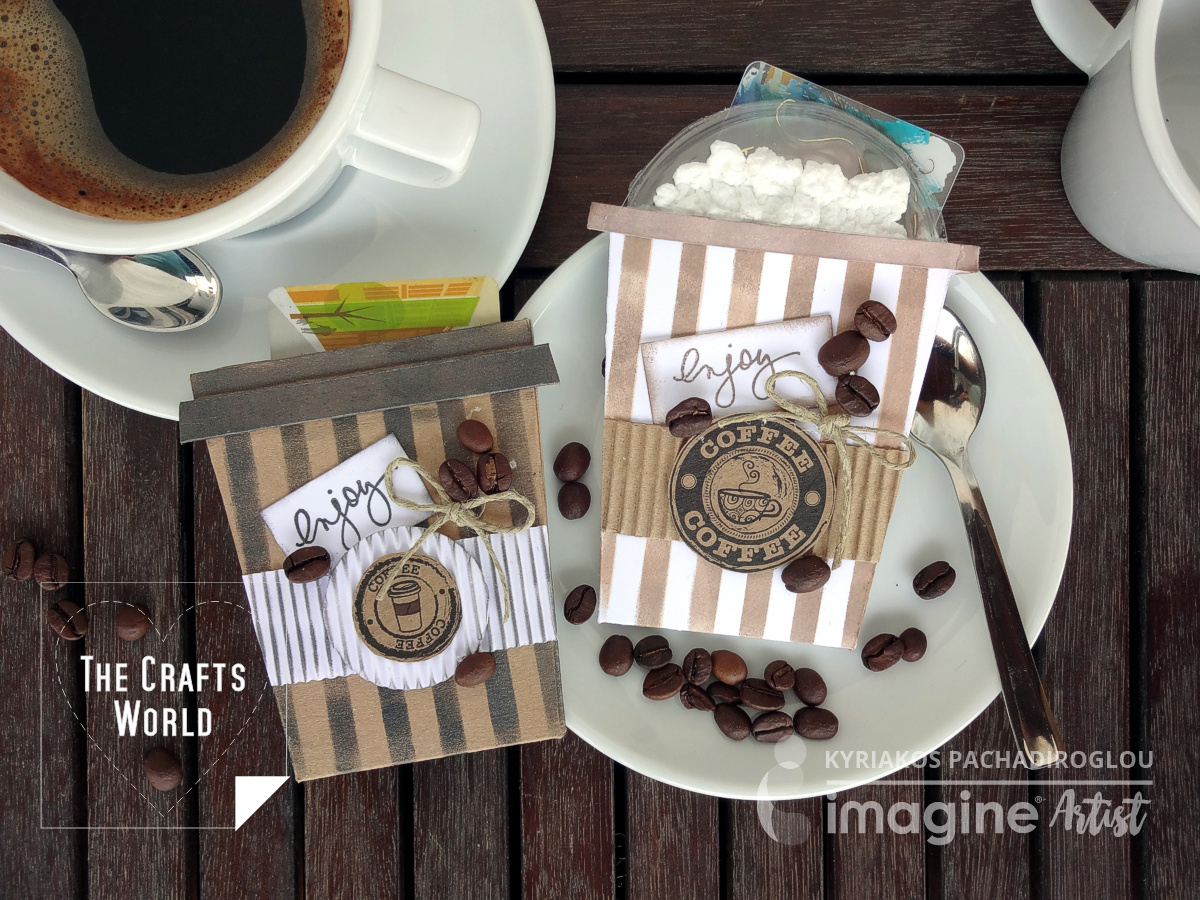 Coffee gift card pockets