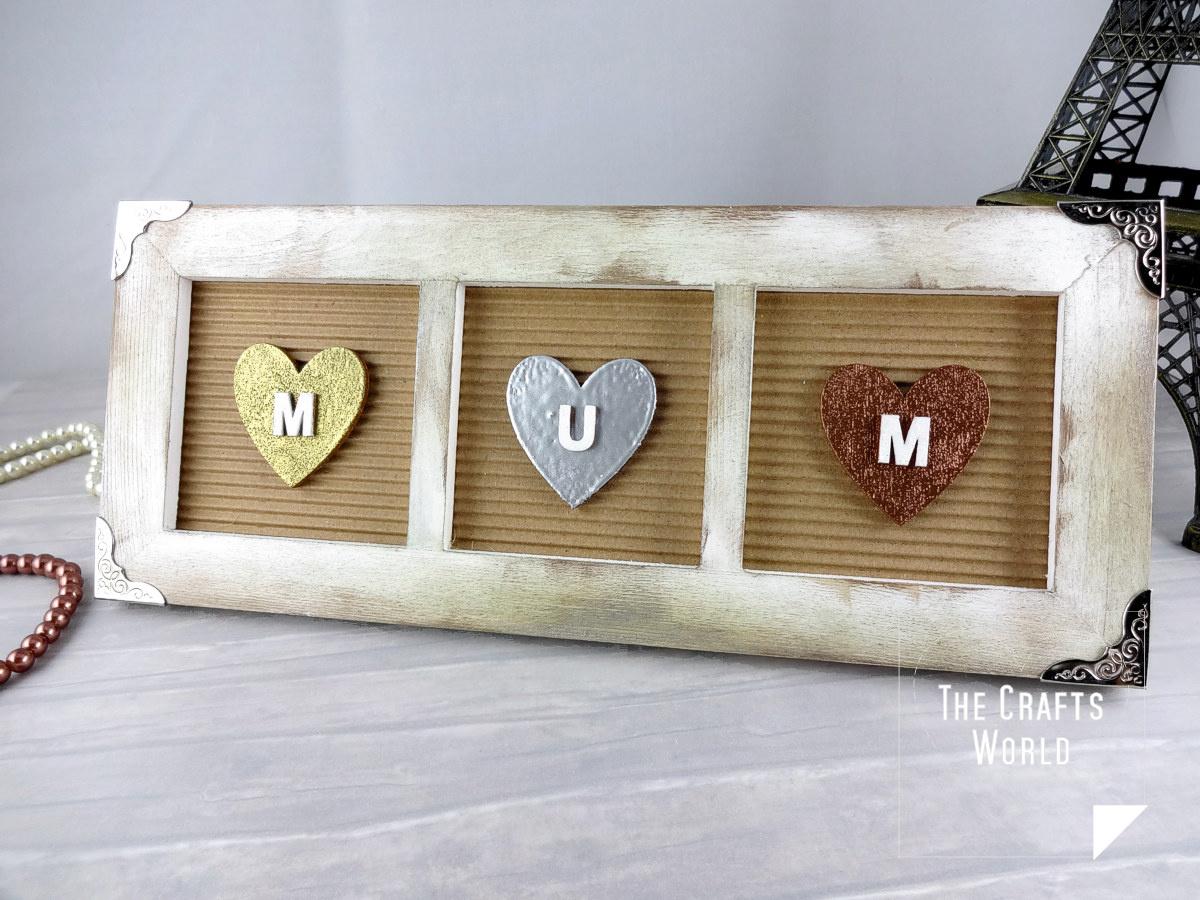 Mum gift frame