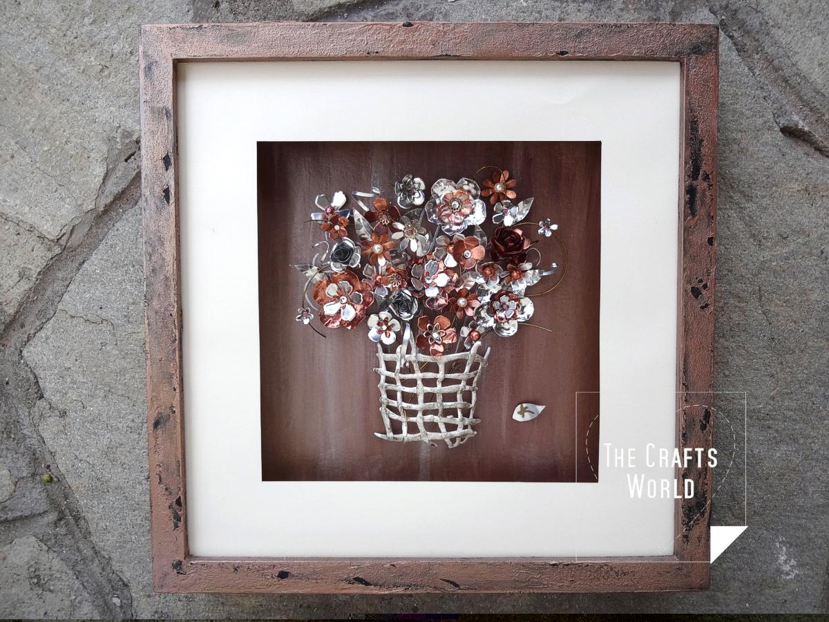 Metallic flowers