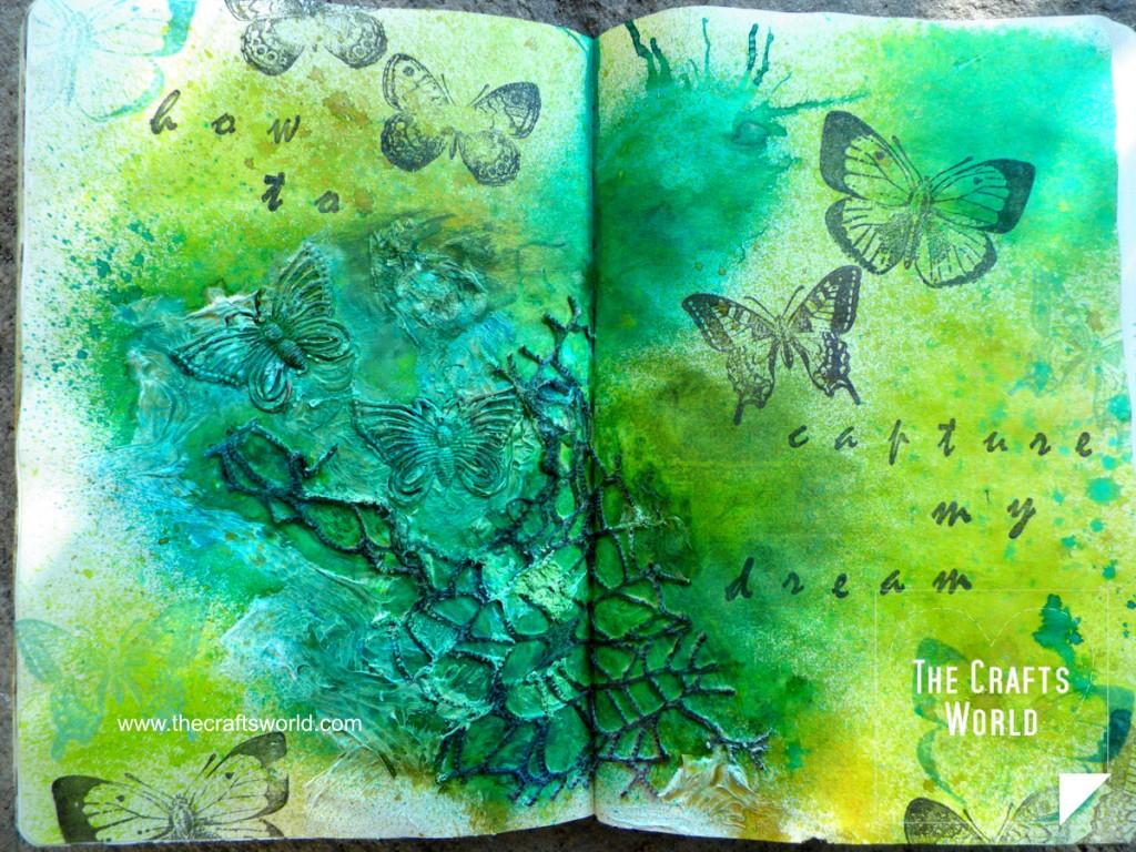art journal capture