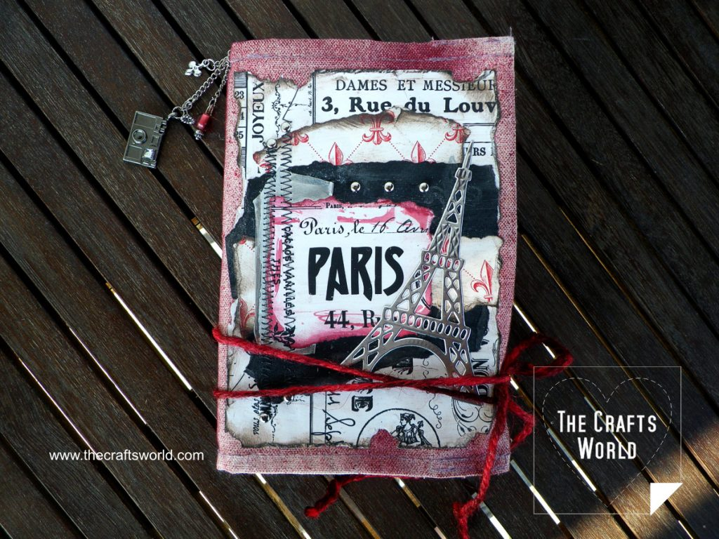 Travel journal Messy Paris