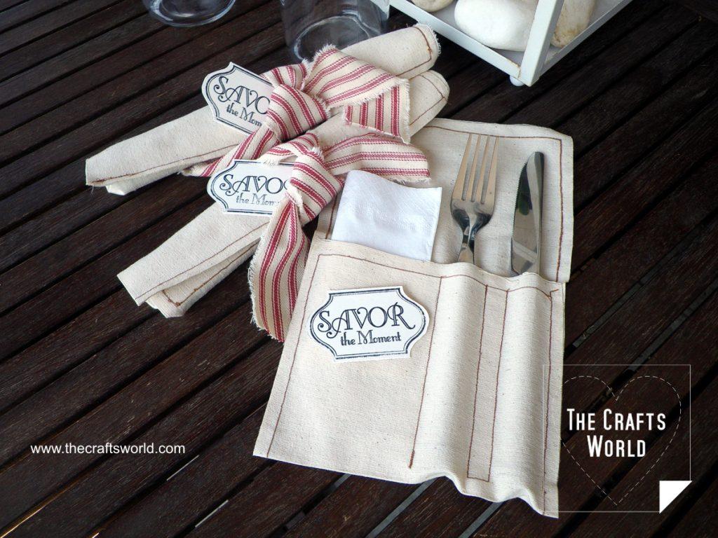 Cutlery pockets