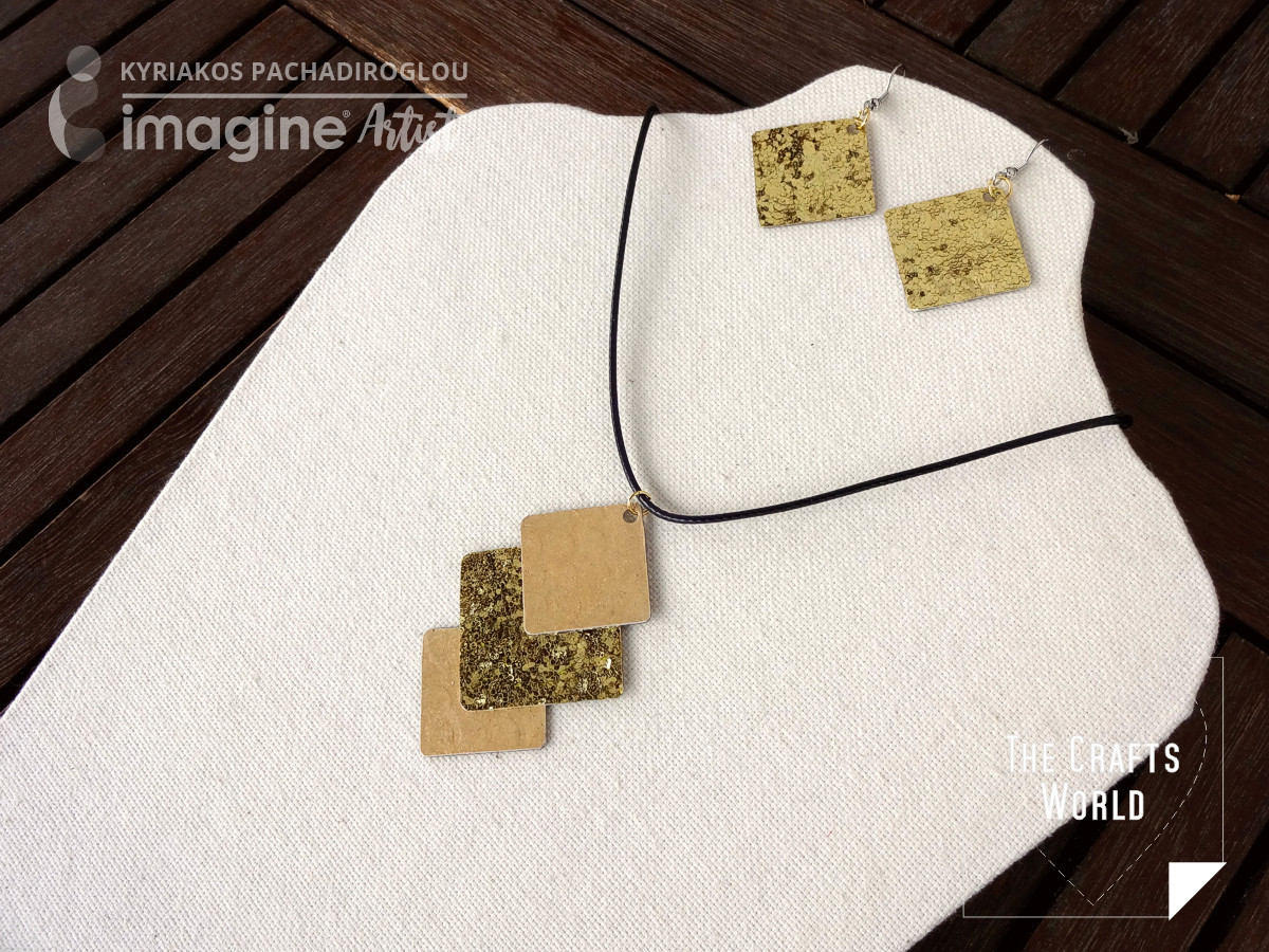 Faux gold jewerly