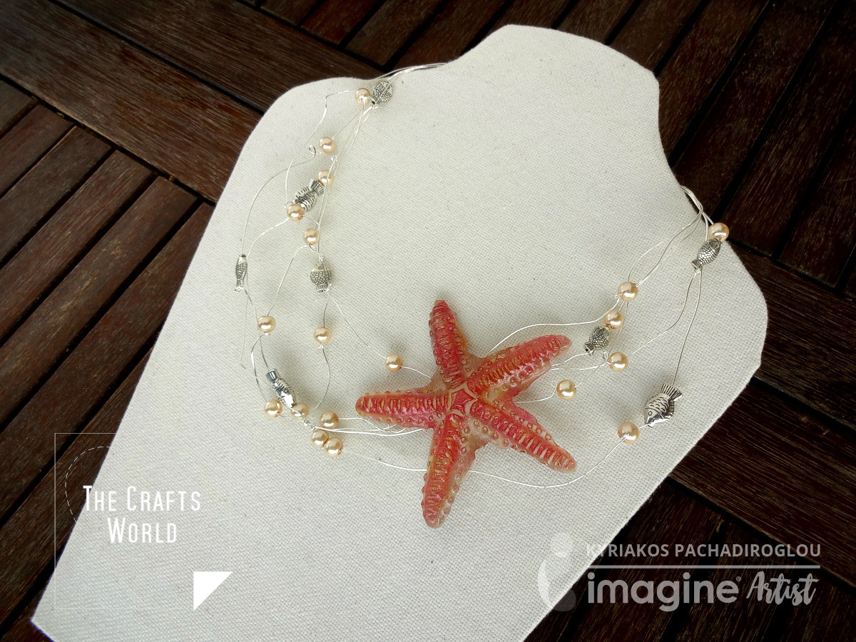 Starfish handmade necklace