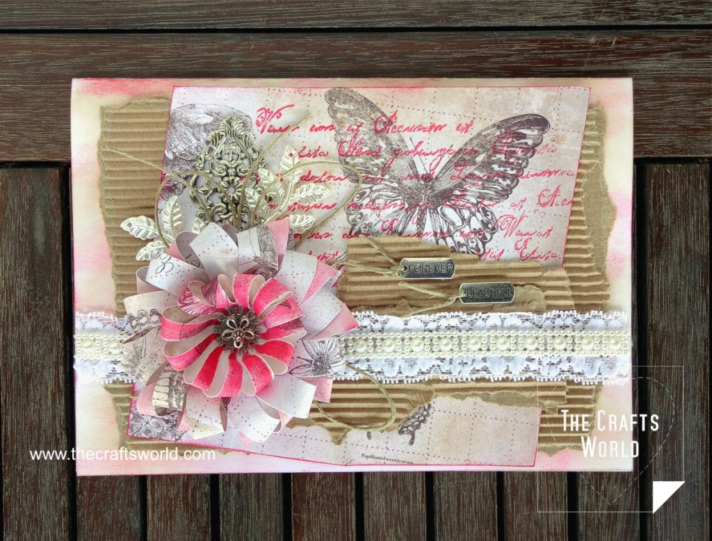 Forever beautiful handmade card