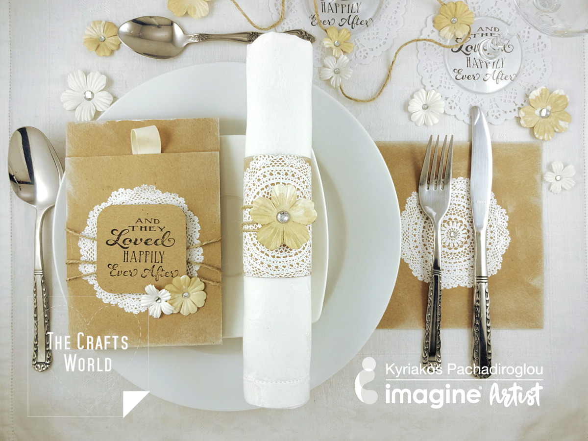 DIY wedding table decoration
