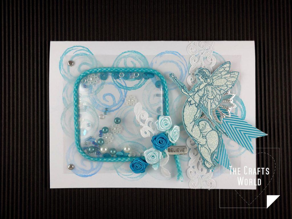 Shaker fairy card
