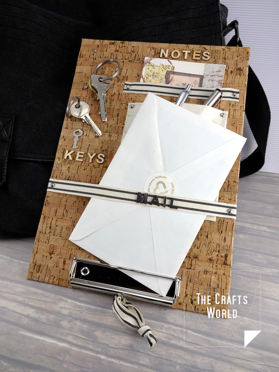 Altered pockets clipboard